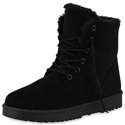SCARPE VITA Damen Stiefeletten Winter Boots Warm Gefüttert e232662623
